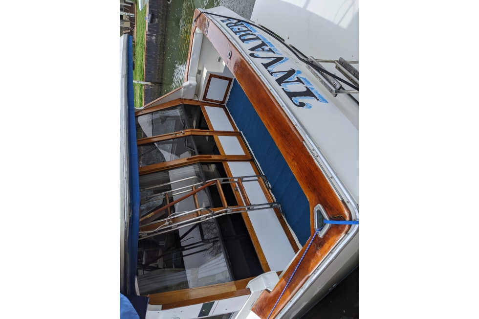 1986 Bayliner 4550 Pilothouse