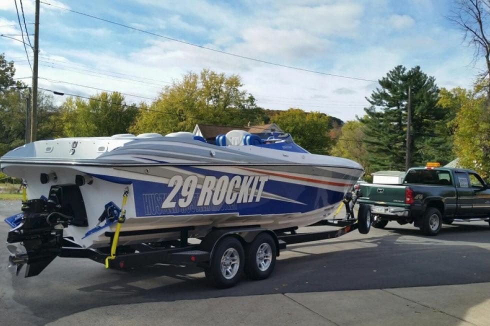 Accept. Hustler boat trailer history!